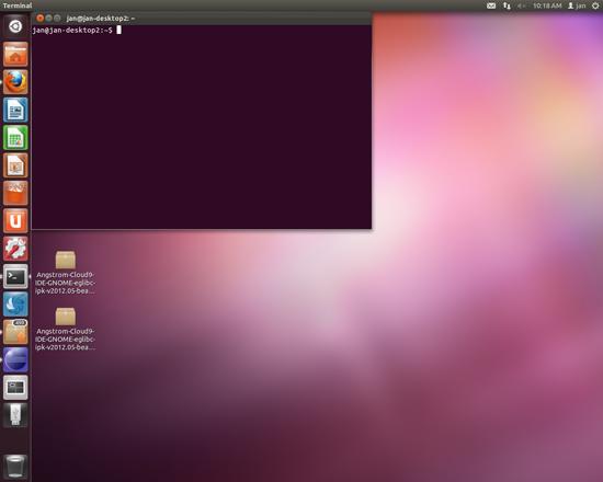 open terminal in ubuntu