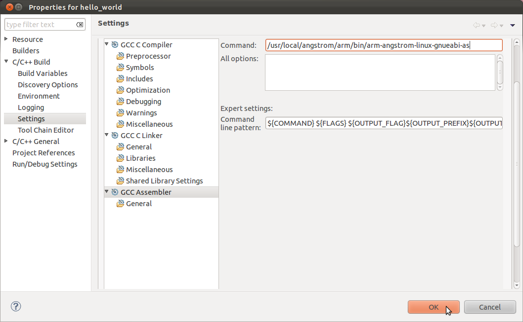 Using Eclipse to Cross-compile, Part 3: Create and Configure